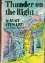Thunder on the Right. Hodder & Stoughton 1st edition, 1957. Illustrator: Eleanor Poore
