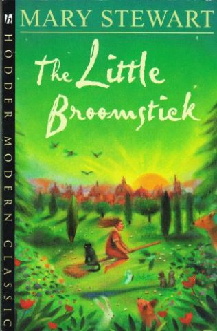 The Little Broomstick. Hodder pb 2001. Illustr Tom Saecker