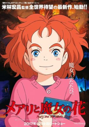 Mary and the Witch's Flower. Image from Studio Ponoc