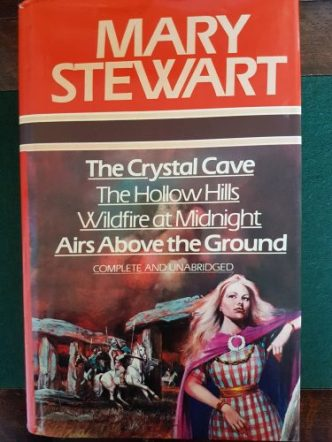 Mary Stewart omnibus 1978. Published by Heinemann/Octopus. Jacket design: Robert Estall