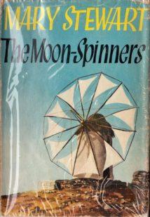 Moon-Spinners, Hodder 1st ed, 1962. Illustr: BIRO