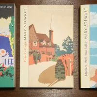 Top Ten Tuesday: Mary Stewart book covers
