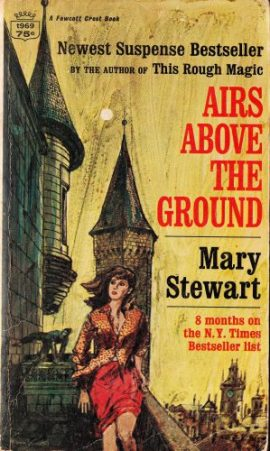 Airs Above the Ground. Fawcett Crest pb 1966. Illustr NK