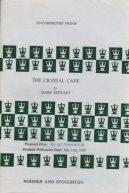 Crystal Cave ARC, Hodder pb 1970