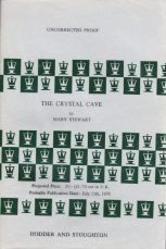 The Crystal Cave ARC, Hodder pb 1970