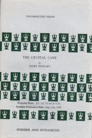 The Crystal Cave ARC, Hodder pb 1970