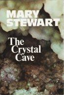 Crystal Cave, Hodder 1st ed, 1970. Design Ward Long Assocs
