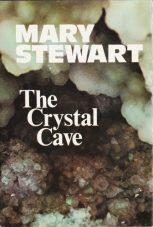The Crystal Cave, Hodder 1st ed, 1970. Design Ward Long Assocs