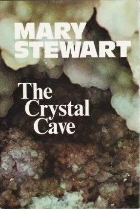 The Crystal Cave, Hodder 1st ed, 1970. Design Ward Long Assocs