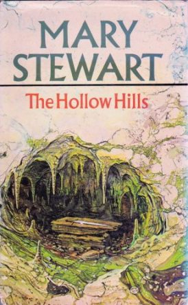 The Hollow Hills, Hodder 1st ed 1973. Jacket illustr George Chrichard