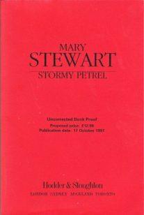 Stormy Petrel ARC, Hodder pb, 1991