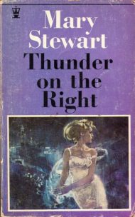 Thunder on the Right, Hodder pb, 1969. Illustr NK