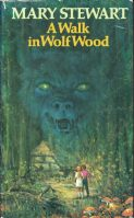 Wolf Wood, Hodder 1st ed 1980. Jacket illustr George Chrichard