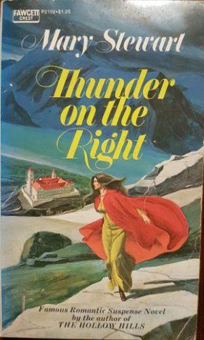 Thunder on the Right, Fawcett pb, year NK (1973 onwards). Illustr NK