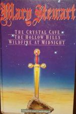 3-in-1 Mary Stewart novels, Peerage Books HB 1991. Illustr: Robert Estall