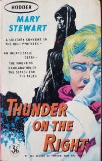 Thunder on the Right, Hodder pb 1960. Illustr NK
